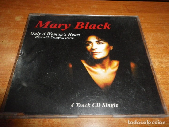 MARY BLACK & EMMYLOU HARRIS ONLY A WOMAN´S HEART CD MAXI SINGLE 1995 CONTIENE 4 TEMAS (Música - CD's Country y Folk)