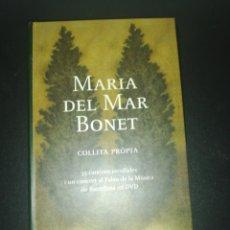 CDs de Música: MARIA DEL MAR BONET,COLLITA PROPIA , CAJA INCLUYE DVD + 2 CD LIBRILLO INTERIOR. Lote 180284850