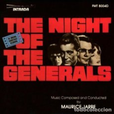 CDs de Música: THE NIGHT OF THE GENERALS / MAURICE JARRE CD BSO. Lote 180287632