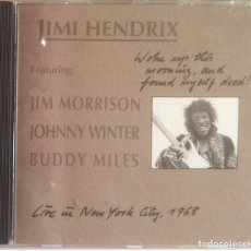 CDs de Música: WOKE UP THIS MORNING,AND FOUND MYSELF DEAD - JIMI HENDRIX, MORRISON ..... CD DRIVE1999 - NO OFICIAL. Lote 180289881