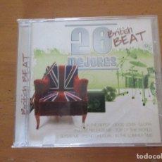 CDs de Música: 20 MEJORES BRITISH BEAT CD 0168 OK RECORDS BEATLES ANIMALS ROLLING STONES TOM JONES SHADOWS. Lote 180290782