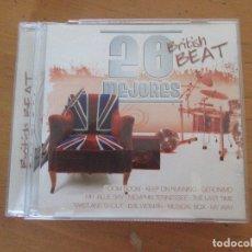 CDs de Música: 20 MEJORES BRITISH BEAT CD0167 OK RECORDS TOM JONES FREDDIE & THE DREAMERS SCREAMING LORD SUCH . Lote 180290801