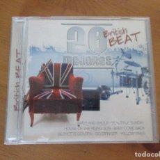 CDs de Música: 20 MEJORES BRITISH BEATCD 0166 OK RECORDS BEATLES ANIMALS DAVE CLARK FIVE ROLLING STONES TROGGS . Lote 180290808