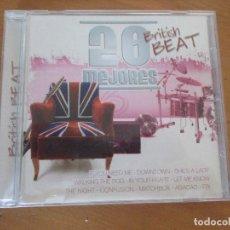 CDs de Música: 20 MEJORES BRITISH BEAT CD 0170 OK RECORDS BEATLES ANIMALS ROLLING STONES ELO JOHN LEE HOOKER . Lote 180290820