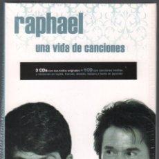 CDs de Música: RAPHAEL - UNA VIDA DE CANCIONES - 4 CDS DE 2017 RF-3284, PRECINTADO. Lote 180314330