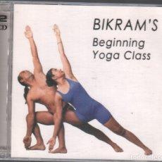 CDs de Música: BIKRAM´S BEGINNING YOGA CLASS / DOBLE CD DE 2005 RF-3145. Lote 180317025
