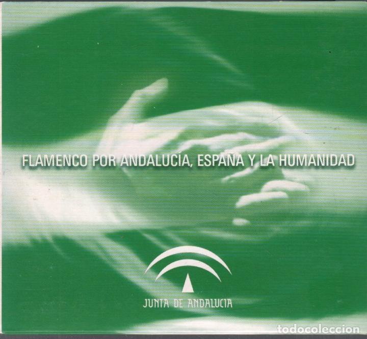 FLAMENCO POR ANDALUCIA, ESPAÑA Y LA HUMANIDAD ENRIQUE MORENTE,..CD DIGIPACK RF-3151 (Música - CD's Flamenco, Canción española y Cuplé)