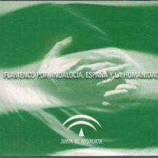 CDs de Música: FLAMENCO POR ANDALUCIA, ESPAÑA Y LA HUMANIDAD ENRIQUE MORENTE,..CD DIGIPACK RF-3151. Lote 180322676