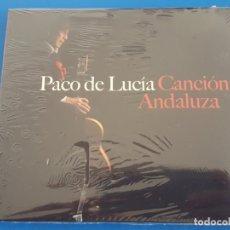 CDs de Música: CD / PACO DE LUCIA / CANCION ANDALUZA 2014 NUEVO Y PRECINTADO EN DIGIPAK. Lote 180322846
