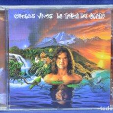 CDs de Música: CARLOS VIVES - LA TIERRA DEL OLVIDO - CD. Lote 180326127