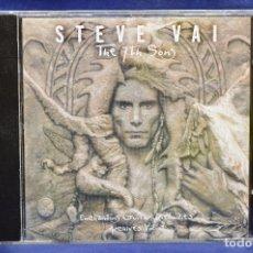 CDs de Música: STEVE VAI - THE 7TH SONG : ENCHANTING GUITAR MELODIES / ARCHIVES VOL.1 - CD. Lote 180327637
