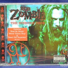 CDs de Música: ROB ZOMBIE - THE SINISTER URGE - CD. Lote 180328096