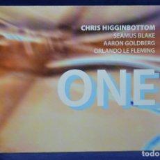 CDs de Música: C.HIGGINBOTTOM, S.BLAKE, A.GOLDBERG, O.LE FLEMING - ONE - CD. Lote 180328718