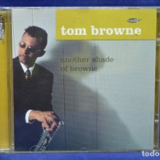 CDs de Música: TOM BROWNE - ANOTHER SHADE OF BROWNE - CD. Lote 180328785