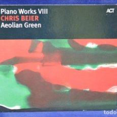 CDs de Música: CHRIS BEIER - PIANO WORKS VIII ( AEOLIAN GREEN ) - CD. Lote 180328881