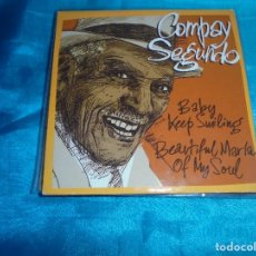 CDs de Música: COMPAY SEGUNDO. BABY KEEP SMILING. GASA,2001 . CD PROMOCIONAL. CARDBOARD SLEEVE. IMPECABLE. Lote 180331413