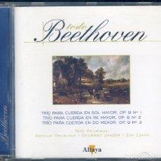 CDs de Música: BEETHOVEN ( TRIOS PARA CUERDA 1, 2, 3). Lote 180332223