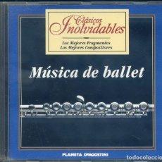 CDs de Música: MUSICA DE BALLET. Lote 180332738