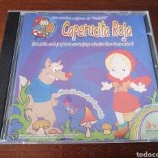 CDs de Música: CAPERUCITA ROJA LOS CUENTOS MÁGICOS DE DUENDI MICRONET 2001. Lote 180336028