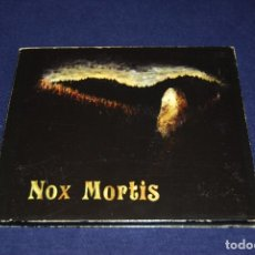 CDs de Música: NOX MORTIS IM SCHATTEN DES HASSES AVANTGARDE GOTHIC DOOM METAL ALEMANIA. Lote 180344545