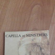 CDs de Música: CAPELLA DE MINISTRERS. 15 ANYS. Lote 180345588