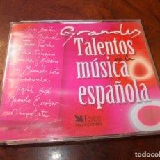 CDs de Música: GRANDES TALENTOS DE LA MÚSICA ESPAÑOLA. 5 CD. READER'S DIGEST SELECCIONES 2.002. Lote 180391542