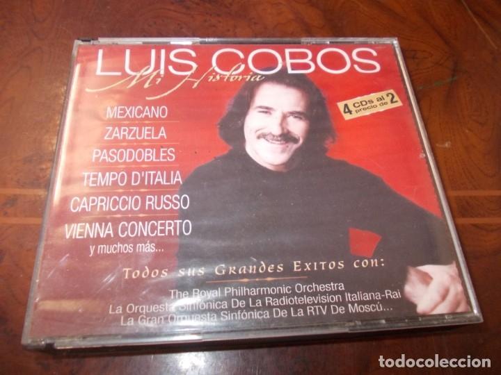 LUIS COBO MI HISTORIA, 4 CD. 2.000 (Música - CD's Flamenco, Canción española y Cuplé)