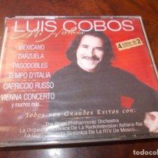 CDs de Música: LUIS COBO MI HISTORIA, 4 CD. 2.000. Lote 180391951