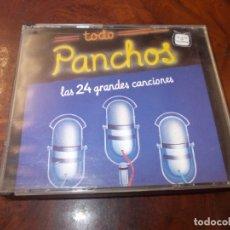 CDs de Música: TODO PANCHOS, LAS 24 GRANDES CANCIONES. 2 CD. 1.991. Lote 180392628