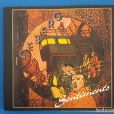CDs de Música: CD / ICEBERG / SENTIMENTS 2003, NUEVO, EN DIGIPAK. Lote 180395365