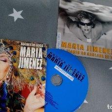 CDs de Música: LOTE DE 2 CD-SINGLES-PROMOCION- DE MARIA JIMENEZ. Lote 180396440