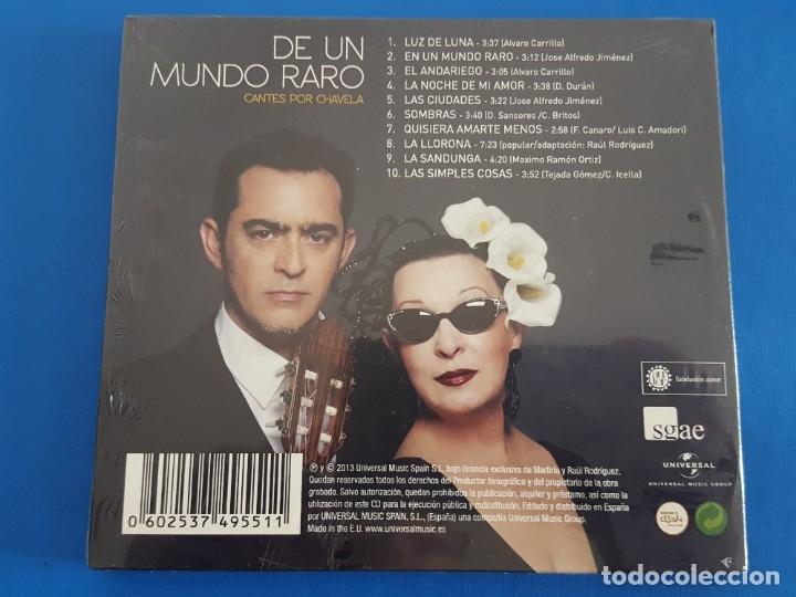 CDs de Música: CD / MARTIRIO - RAUL RODRIGUEZ / DE UN MUNDO RARO, CANTES POR CHAVELA 2013, NUEVO Y PRECINTADO - Foto 2 - 180398390