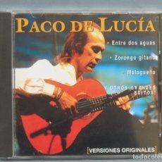 CDs de Música: CD. PACO DE LUCIA. ENTRE DOS AGUAS. Lote 180400628