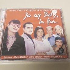 CDs de Música: JJ10- YO SOY BETTY LA FEA CD NUEVO PRECINTADO LIQUIDACION!!!. Lote 180404330
