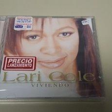 CDs de Música: JJ10- LARI COLE VIVIENDO CD NUEVO PRECINTADO LIQUIDACION!!!. Lote 180404560
