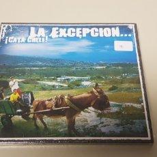 CDs de Música: JJ10- LA EXCEPCION CATA CHELI CD NUEVO PRECINTADO LIQUIDACION!!!. Lote 180404938