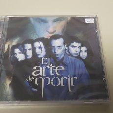 CDs de Música: JJ10- EL ARTE DE MORIR BANDA SONORA CD NUEVO PRECINTADO LIQUIDACION!!!. Lote 180406543