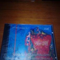 CDs de Música: ROSARIO Y RESURRECCIÓN. BANDA DE MÚSICA CORNETAS Y TAMBORES DE LA CRUZ ROJA. NUEVO PRECINTADO. C5CD. Lote 180406578