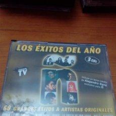 CDs de Música: LOS ÉXITOS DEL AÑO. 3 CD´S. 60 GRANDES ÉXITOS & ARTISTAS ORIGINALES 2006. C5CD. Lote 180407226
