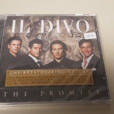 CDs de Música: JJ10- IL DIVO THE PROMISE CD NUEVO PRECINTADO LIQUIDACION!!!! N3 . Lote 180407817
