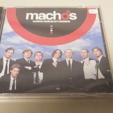 CDs de Música: JJ10- MACHOS BANDA SONORA ORIGINAL CD NUEVO PRECINTADO LIQUIDACION!!!. Lote 180408108