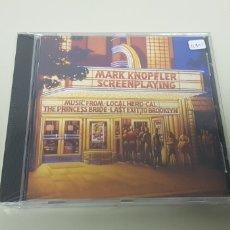 CDs de Música: JJ10- MARK KNOPFLER SCREEN PLAYING CD NUEVO PRECINTADO LIQUIDACION!!!. Lote 180409098