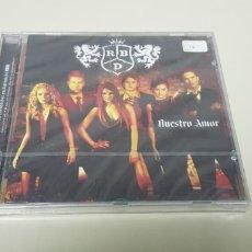 CDs de Música: JJ10- RBD NUESTRO AMOR CD NUEVO PRECINTADO LIQUIDACION!!!. Lote 180409787