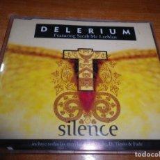 CD de Música: DELERIUM SILENCE SARAH MCLACHLAN CD MAXI SINGLE 2001 ESPAÑA REMEZCLAS AIRSCAPE DJ TIESTO FADE. Lote 180409926