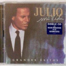 CDs de Música: JULIO IGLESIAS , MI VIDA DOBLE CD (1998). Lote 180411895