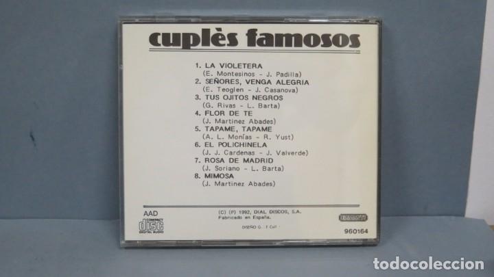 CDs de Música: CD. FEDERICO MORENO TORROBA Y SU ORQUESTA. CUPLÉS FAMOSOS - Foto 2 - 180412750