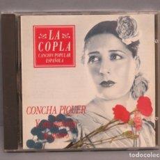CDs de Música: CD. CONCHA PIQUER. Y SIN EMBARGO TE QUIERO. Lote 180413102