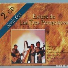 CDs de Música: 2 CD. EXITOS DE LOS TRES PARAGUAYOS. Lote 180416575