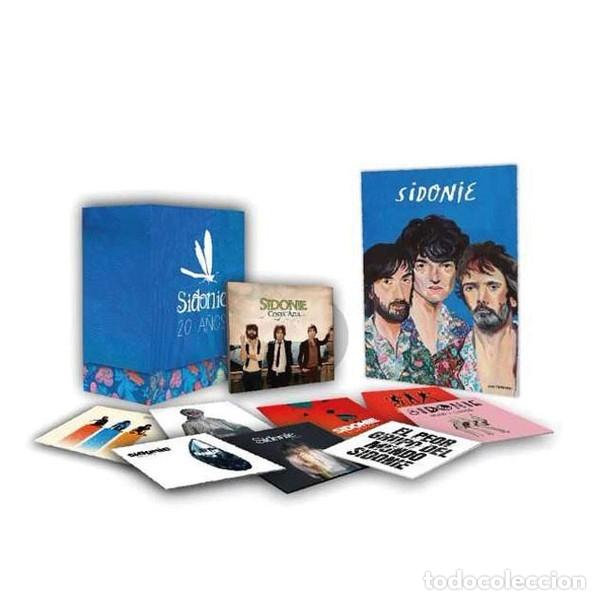 CDs de Música: SIDONIE - 20 AÑOS - CAJA CON 9 CDS + PÓSTER - EDICIÓN ESPECIAL NUMERADA - Foto 2 - 180419903