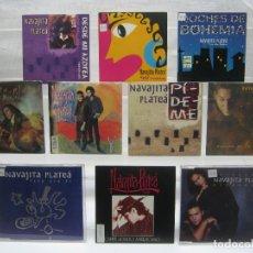 CDs de Música: LOTE 10 CD NAVAJITA PLATEÁ. Lote 180421085